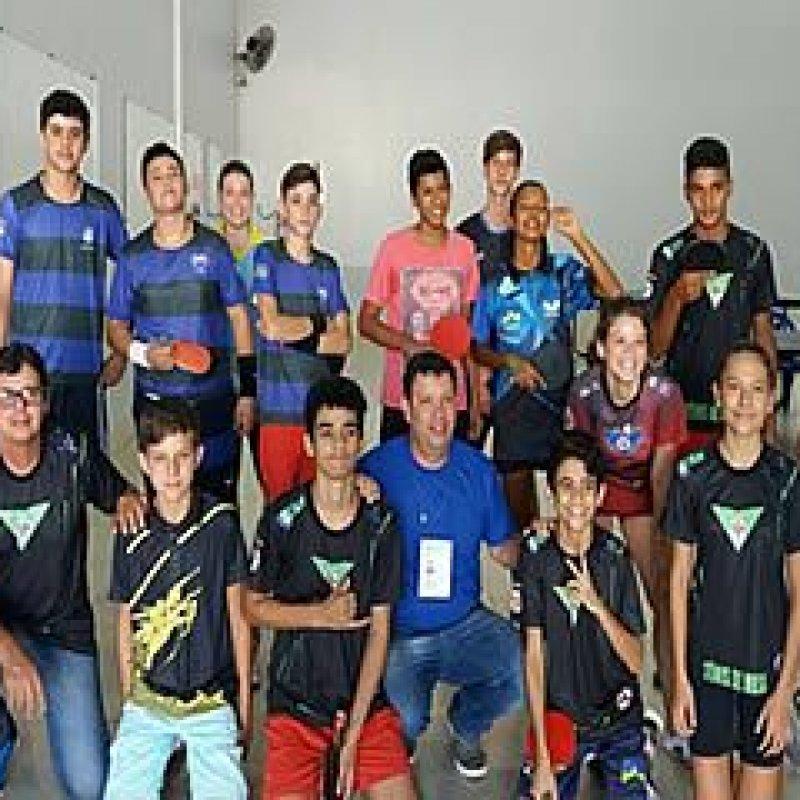 Mesatenistas de Ouro Preto garantem 7 das 8 vagas durante etapa regional do JOER