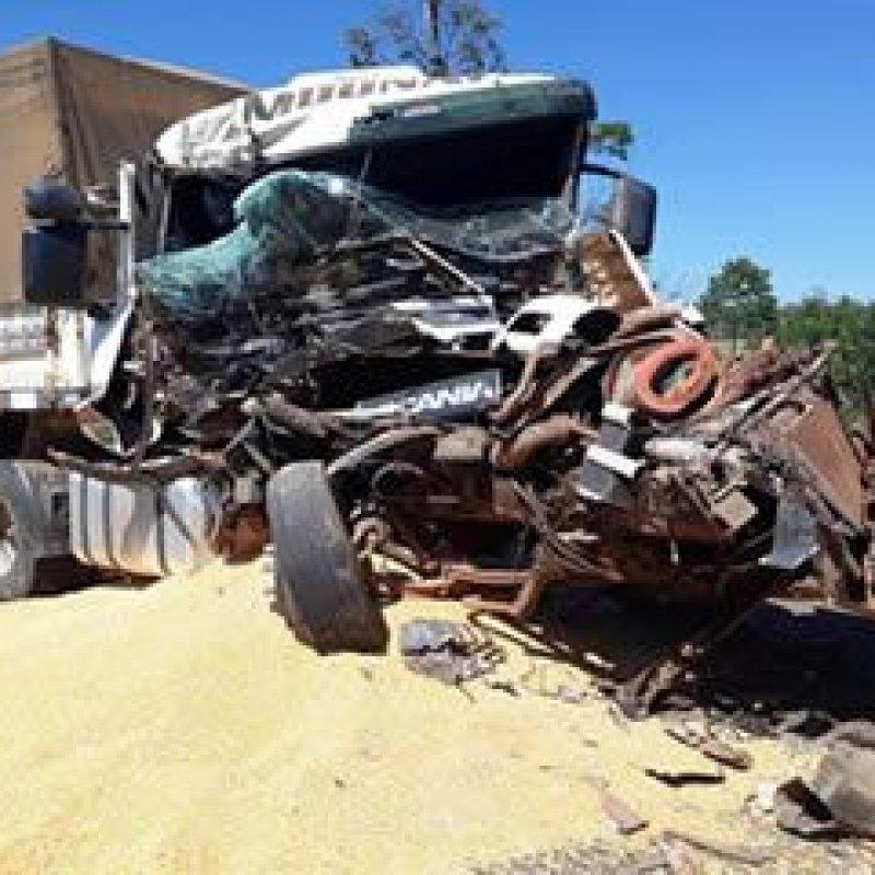 PRF registra mais um acidente envolvendo carreta na BR 364