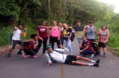 Desbravadores participam de trilha de 20km em Ouro Preto do Oeste