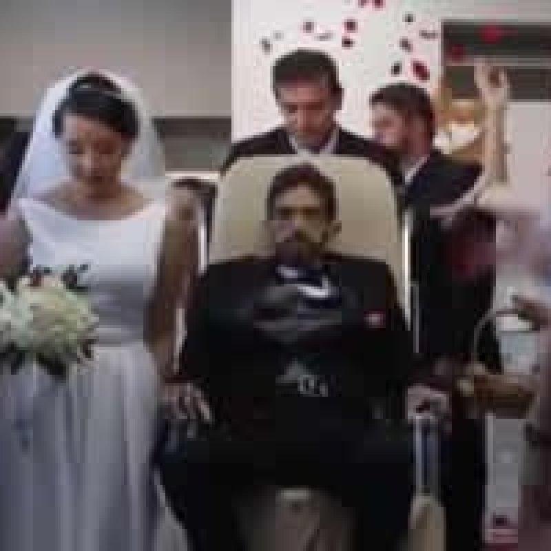Alagoano realiza sonho, se casa no hospital e morre quatro dias após a cerimônia