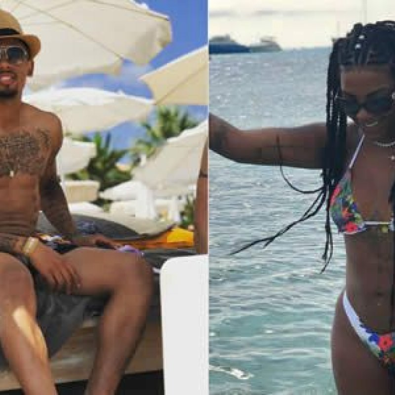 Ludmilla e Gabriel Jesus curtem juntos festival em Ibiza