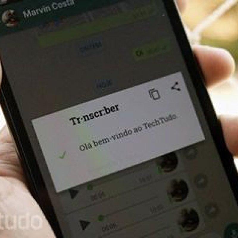 Como transformar áudio em mensagem de texto no WhatsApp
