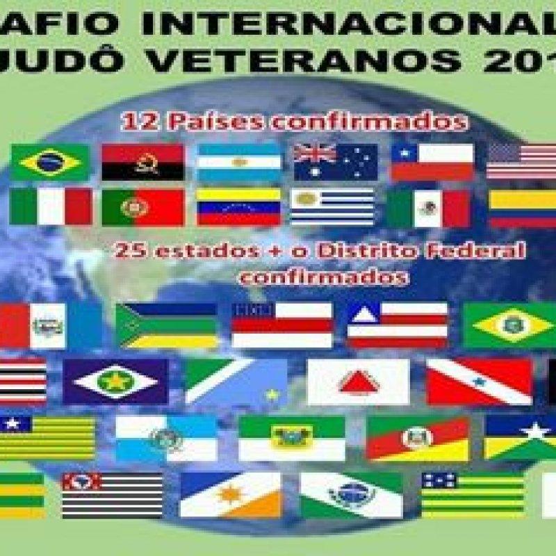 Judocas veteranos de Rondônia  se mobilizam para Desafio Internacional
