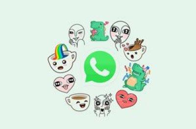 Como mandar figurinhas no WhatsApp Web