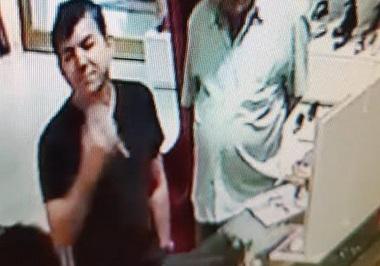 433d4d146a473 Suspeito do furto. Óculos que foi furtado na loja da Carmen Steffens em Ouro  Preto ...